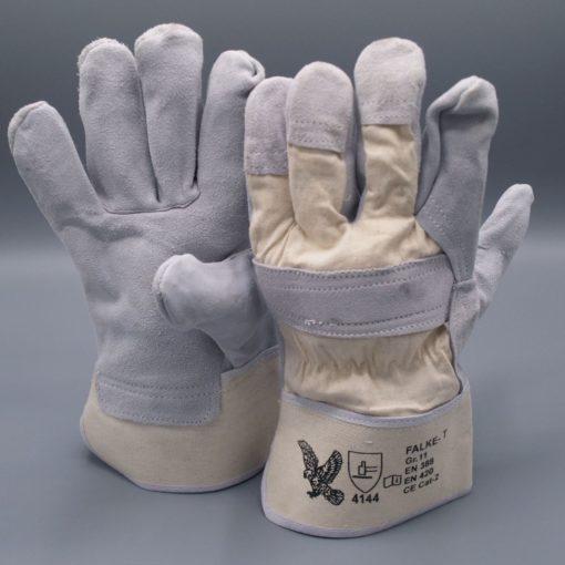 Rindspaltleder-Handschuh Falke T