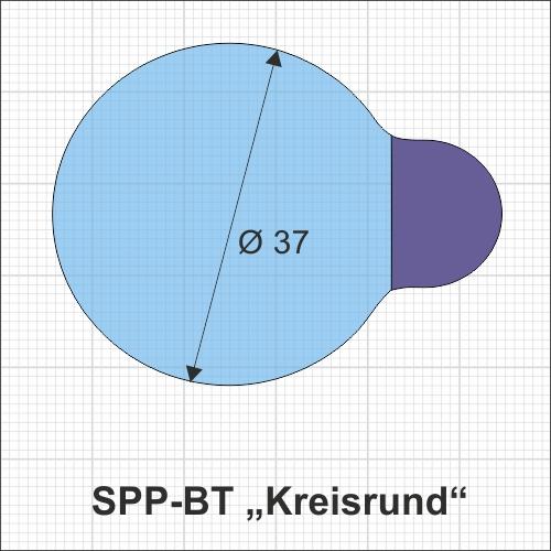SPP-BT kreisrund 500 technische Zeichnung