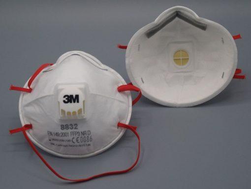 3M 8832 Atemschutzmaske mit Ausatemventil