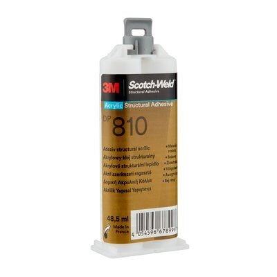 3M™ Scotch-Weld™ 2-Komponenten-Konstruktionsklebstoff auf Acrylatbasis DP810, Grün, 48.5 ml
