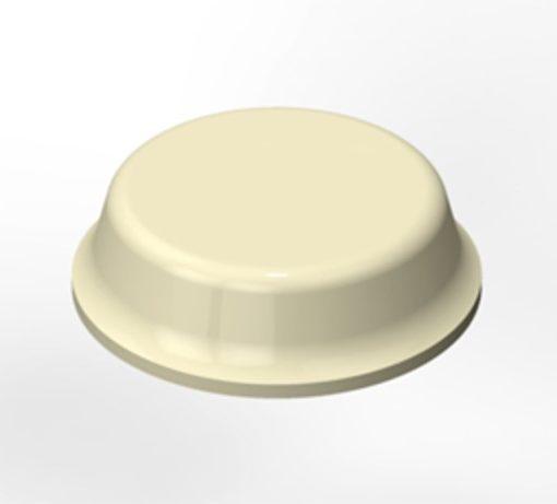 3M SJ-5012 Bumpon Elastikpuffer weiß